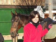 Lana and horse!