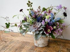 sweet pea as 'filler' in arrangements