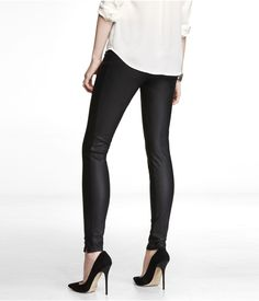 (MINUS THE) LEATHER ANKLE ZIP LEGGING | Express