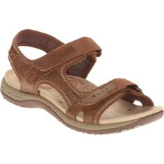 528f8aa0d81c9a US Shoe Size 10 Women Brown Leather Comfortable Casual Summer Open Toe  Sandals  fashion