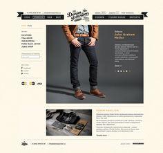wooilikeit ^.^ - Denim Pavilion Website by Eskimo Design/ Pavel...