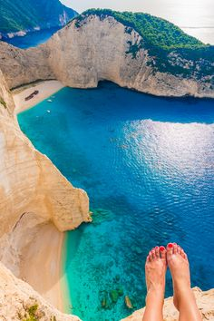 Shipwreck Beach, Navagio Beach, Zakynthos, Greece
