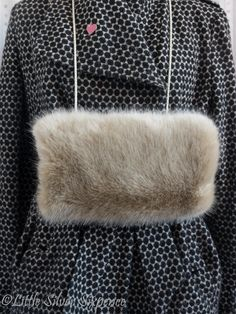 Ladies Hand Muff SVMF101 by LittleSilverSixpence on Etsy