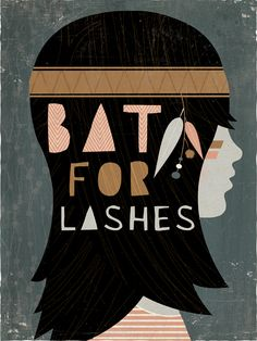 Bat for Lashes by Andrew Bannecker