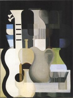 """Accords"" Amedee Ozenfant, with Le Corbusier, founded a variant of Cubism called ""Purism"" . Le Corbusier, Antoine Bourdelle, Francis Picabia, French Sculptor, Mid Century Art, Art Moderne, Objet D'art, Everyday Objects, Claude Monet"