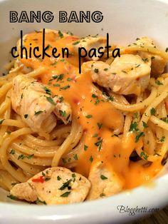 bangbang chicken pasta