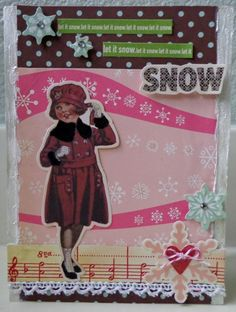 Christmas Journal, Fairy Dust, Scrapbook Layouts, Creative Inspiration, Painting Inspiration, Frost, Me Too Shoes, Snowflakes, Journals