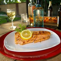 Our Top 10 Grilled Salmon Recipes: Grilled Salmon with Dill and Lemon