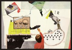 Collaboration: collage by Zach Collins (before) & collage by Olga Lupi (after)