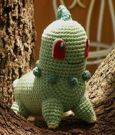 Patrón gratis amigurumi de Chicorita de Pokemon Espero que os guste tanto como a…