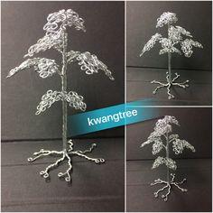 은나무~ 10cm #철사공예 #와이어아트 #와이어공예 #WireArt #WireCrafts #ワイヤーアート #針金細工 #はりがねさいく #Wiretree #WireWood #树
