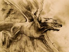 Queen of All Ears #dragonillustration ,#dragon , #traditional , #pencil , #fantasy