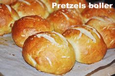 Pretzels boller, Tyskland,Andet, Morgenmad, Bagværk, opskrift