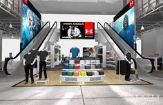 Under Armor Retail Stores   Premier Displays U0026 Exhibits, ...