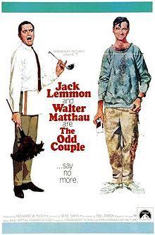 The Odd Couple: Jack Lemmon & Walter Mathau