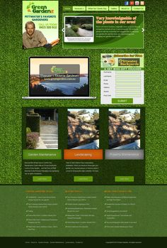 We created a brand new design for Green Gardenz, a landscaping company based in Pittwater, NSW, Australia. #WebDesign #creativedesign #landscaping #togonondesign