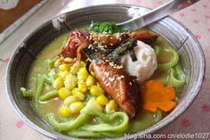 味噌豚骨刀切汤面....一碗用时间与汗水換取而來的好滋味!