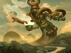 Pharika, God of Affliction. I adore this art so much. Would like her on a playmat AND a foil of her card :D