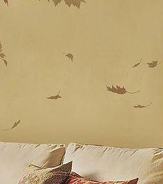Cutting Edge Stencils - Falling Leaves Stencil