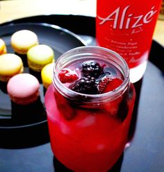 Solo Summer Cocktails made with #AlizeinColor by @glammzmore