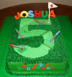 Mini golf on Pinterest  Golf, Golf Party and Golf Cakes
