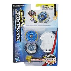 Hasbro - Beyblade Burst Evolution SwitchStrike Starter Pack - Colors May Vary Arma Nerf, Evolution, Beyblade Toys, Papercraft Pokemon, Let It Rip, Spinning Top, Beyblade Burst, Cool Things To Buy, Stuff To Buy
