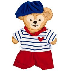 Duffy the Disney Bear France Costume $18 #www.frenchriviera.com