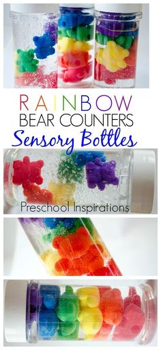 Make rainbow bear co