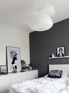 A bright shade of gray can enlighten your feeling whenever you enter your gray bedroom. We have 30 gray bedroom ideas that . Read Elegant Gray Bedroom Ideas 2020 (For Calming Bedroom) Gray Bedroom, Home Bedroom, Trendy Bedroom, Modern Bedroom, Master Bedroom, Natural Bedroom, White Bedrooms, Ikea Malm, Ikea Ikea
