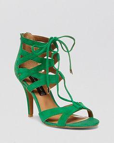 STEVEN BY STEVE MADDEN Open Toe Sandals - Gingir High Heel | Bloomingdale's