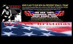 Please and thank you, thank God and the USA Electoral Collage You Rock I have a major question? PRESIDENT TRUMP CAN I USE OLD CLOSED ABANDONED MILITARY BASES TO HOST THE USA 100% MILITARY VETS ROLLING CONCERT TOUR EVENTS ?  For every local band on the planet to help all military vets, men and women No Bs No Politics No Haters Just Red white and blue and Rock and Roll. Thank you Merry Christmas and God Bless us all. JC Berdoo www.usa100rollingconcerttourevents.com  www.berdoo.com #maga…