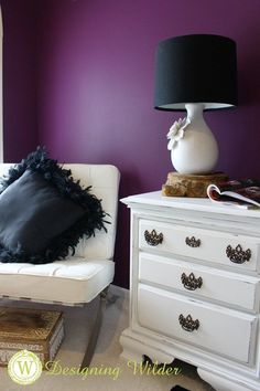 Nontraditional is my jam, but at times there's a case for a thoughtfully designed piece of furniture used as intended. Meet my shabby nightstands!