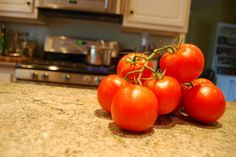 Pinned for the steps to prep the tomatoes.  I like to use Romas. 6 Steps to Make Homemade Spaghetti Sauce from Fresh Tomatoes