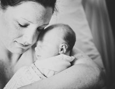 Newborn hospital photos