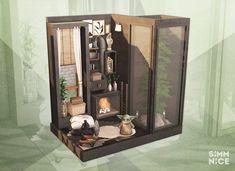 Sims House, Atrium, Nook, Liquor Cabinet, Instagram Challenge, Storage, Furniture, Baby, Home Decor
