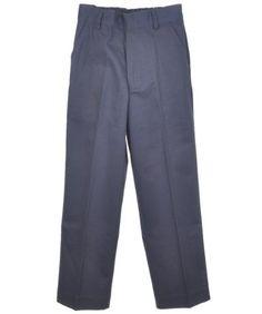 50dc001ea90ab Universal Big Boys  Flat Front Pants (Sizes 8 - 20) - navy