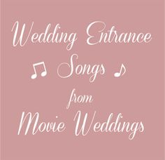 13 Alternative Processional Songs For The Bride\'s Entrance ...