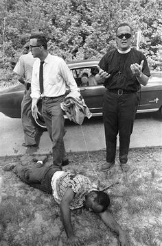 On June 6, 1966 James Meredith was shot and wounded in Mississippi on the second day of his 220-mile March Against Fear.