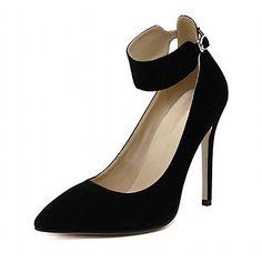 f1457bbb2 Mujer Zapatos Cuero Patentado Microfibra Primavera Verano Innovador Tacones  Paseo Tacón Stiletto Flor para Boda Casual