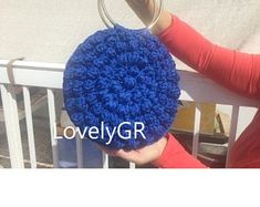 Crochet backpack Bobble Stitch made of polyester cord yarn in black color. Backpack sizes cm, height 35 cm, 60 cm long strap or inches. Crochet Shoulder Bags, Crochet Backpack, Bobble Stitch, Plastic Canvas, Crochet Handbags, Crochet Woman, Cotton Bag, Beautiful Bags, Bag Sale