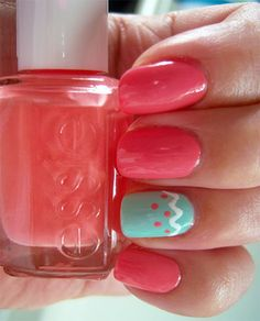 Simple Easter Egg Nail Art Designs Ideas For Beginners 2014 9 Simple Easter Egg Nail Art Designs & Ideas For Beginners 2014