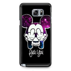Mickey Disney TATUM-7185 Samsung Phonecase Cover Samsung Galaxy Note 2 Note 3 Note 4 Note 5 Note Edge