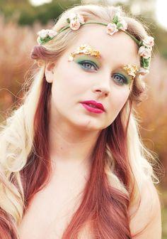 Woodland Fantasy Make-up by Lydia Rachael