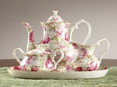 I have this Tea set and have enjoyed many cups of tea with my girls & had many conversations.. I hope that when they have a little girl that they will do the same. :)