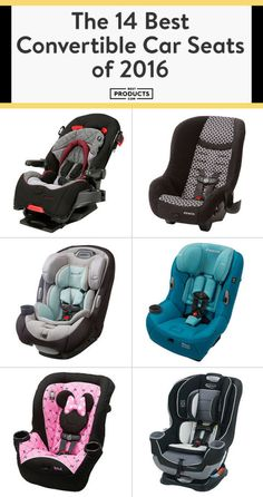 If you want your car seat to grow with your kiddo, here's your guide! These convertible car seats are safe, sleek, and easy to install.