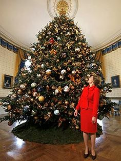 2007. Laura Bush. theme: holiday in the national parks.