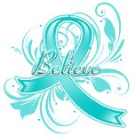 Interstitial Cystitis Believe Flourish Ribbon