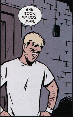 Hawkeye wants his dog back