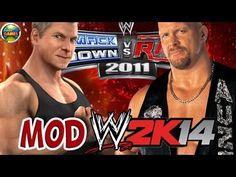 WWE Steve Austin vs.Vince McMahon [SvR 2011] MOD 2K14 #PS2