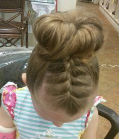 Recital hair do by Barb